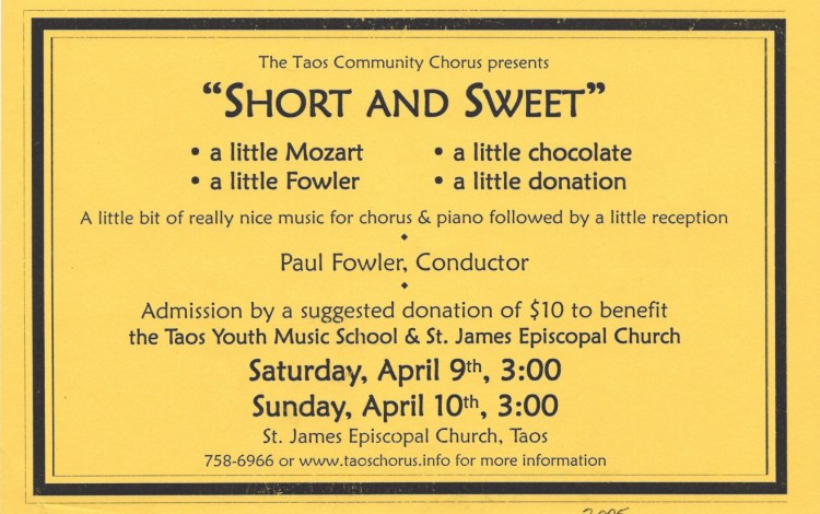 2005 April Flyer