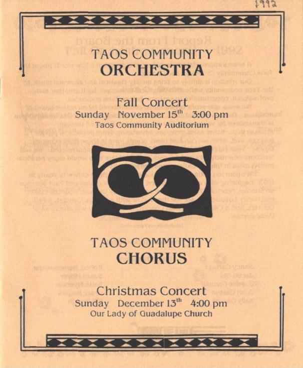 1992-fall-orch-xmas-chorus-cover