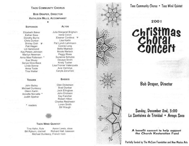 2001-xmas-cover-and-performers